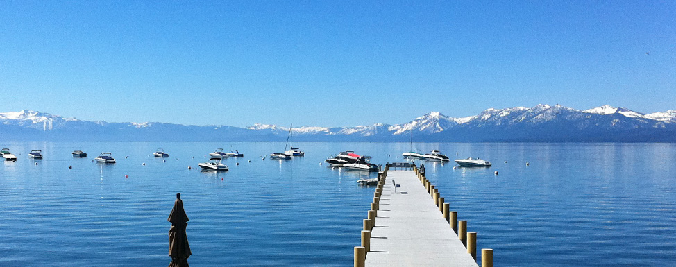 Dollar Point homeowners pier in North Lake Tahoe